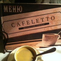Photo taken at Cafeletto by Станислав Б. on 3/19/2012