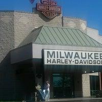 Photo taken at Milwaukee Harley-Davidson by Natty P. on 9/9/2012
