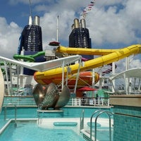 Photo taken at Norwegian Epic by Jessica T. on 3/17/2012