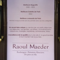 Photo taken at Raoul maeder by Sebastien L. on 3/14/2012