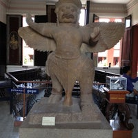Photo taken at National Museum, Phnom Penh by Tracy F. on 6/1/2012