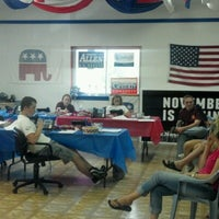 Photo taken at Montgomery GOP HQ by Chris G. on 7/20/2012