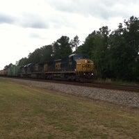 Photo taken at Clayton Rd Csx RR by Brandon C. on 5/15/2012