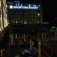 Photo taken at Daemyong Resort BYEONSAN by Wonho K. on 7/27/2012