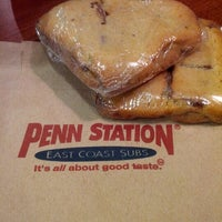 Photo taken at Penn Station East Coast Subs by YaBoy J. on 2/14/2012