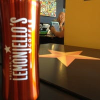 Photo taken at Lemonjello's Coffee by Parker on 6/25/2012