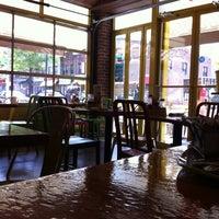 Photo taken at Bareburger by Kayla G. on 4/30/2012