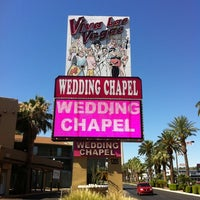 Photo taken at Viva Las Vegas Wedding Chapel Inc. by Doug M. on 7/7/2012