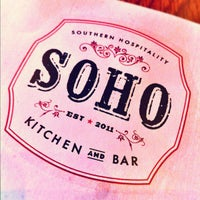 Photo taken at soho chicken + whiskey by Gregory W. on 8/19/2012
