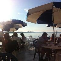 Photo taken at Edgewater Pier by Melinda M. on 8/21/2012