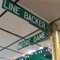 Photo taken at Linebacker Lounge by Brandon S. on 4/21/2012