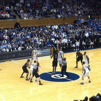 Photo taken at Cameron Indoor Stadium by Chris S. on 2/17/2012