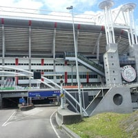 Photo taken at Amsterdam ArenA by Furkan A. on 7/19/2012