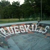 Photo taken at Skatepark - bowl by Riccardo P. on 5/28/2012