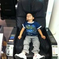Photo taken at Cadeira Massagem by George B. on 6/3/2012