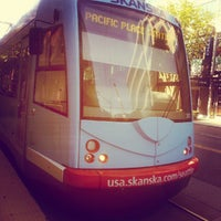 Photo taken at South Lake Union Streetcar by scott i. on 7/17/2012