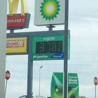 Photo taken at BP by Mary Ellen D. on 3/9/2012