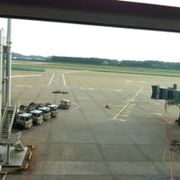Photo taken at Gate 39 by Jung Hee S. on 8/25/2012