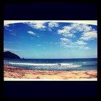 Photo taken at Praia Vermelha do Centro by Thiago P. on 7/8/2012