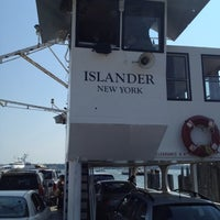 Photo taken at Shelter Island North Ferry - Greenport Terminal by Jon C. on 9/1/2012