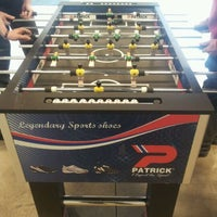 Photo taken at Patrick Table Soccer by 👮 Christopher 🐾 Crazy 4SQ Checker on 3/16/2012