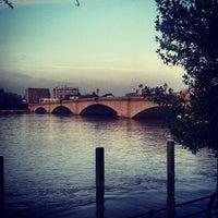 Photo taken at Putney Bridge by Kristof K. on 3/13/2012