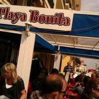 Photo taken at Restaurante Playa Bonita by Lau B. on 4/5/2012