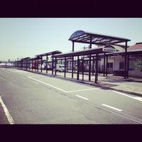 Photo taken at 白市駅 バス停 by Kazuhiro S. on 4/28/2012