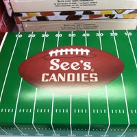 Photo taken at See's Candies by Kathy C. on 2/4/2012