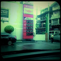 Photo taken at Total Gas Station by Francis C. on 6/2/2012
