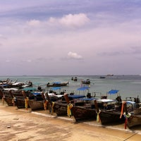 Photo taken at PhiPhi Andaman Resort by Oat C. on 5/13/2012