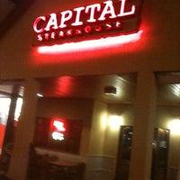 Photo taken at Capital Steakhouse by Adilson Pereira on 5/9/2012