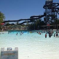 Photo taken at Six Flags Hurricane Harbor by Edo F. on 7/29/2012
