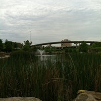 Photo taken at Centennial (Central) Park by Jessica G. on 5/12/2012