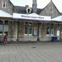 Photo taken at Weston-super-Mare Railway Station (WSM) by Dave B. on 3/11/2012