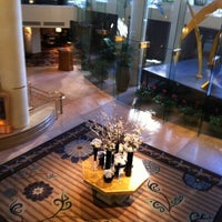 Photo taken at Omni Los Angeles Hotel at California Plaza by Bryan C. on 2/10/2012