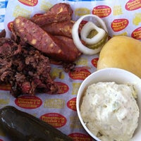 Photo taken at Dickey's Barbecue Pit by Hillarie on 5/18/2012