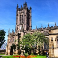 Photo taken at Manchester Cathedral by Paul v. on 9/6/2012