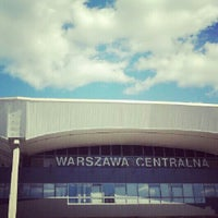 Photo taken at Warsaw Central Railway Station by Magdalena K. on 9/9/2012