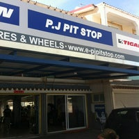 Photo taken at P.J. PitStop by Adamos I. on 5/29/2012