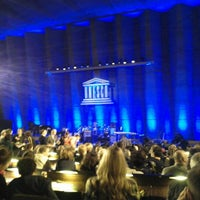 Photo taken at UNESCO by Steren G. on 4/27/2012