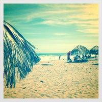 Photo taken at Playa Pelúa by Isabel L. on 2/25/2012
