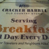 Photo taken at Cracker Barrel Old Country Store by Keya B. on 4/6/2012