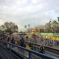 Photo taken at Tomorrowland® Speedway by Ray T. on 3/21/2012
