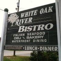 Photo taken at White Oak River Bistro by @Dayngr on 7/31/2012