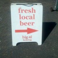 Photo taken at Big Al Brewing by Erik S. on 8/25/2012