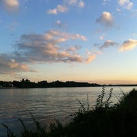 Photo taken at Rhein by Johannes V. on 7/7/2012
