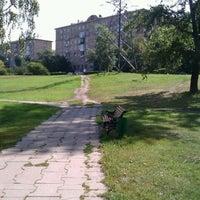Photo taken at Горка На Звездном Бульваре by Вова С. on 8/6/2012
