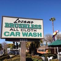 Photo taken at Lozano Brushless Car Wash by Loree D. on 2/22/2012