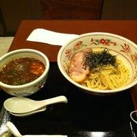 Photo taken at らーめん登楽 ふみや by Tsuyo on 4/25/2012